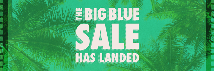 The Big Blue Sale - Tropical holiday offers coming soon